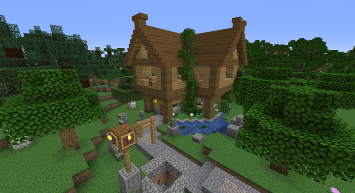 Simple Survival House Minecraft Map