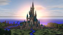 Disney Castle Intro Minecraft Map & Project