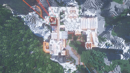 Mountain House (MAISON DE MONTAGNE) Minecraft Map & Project