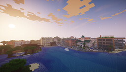 Portville - A detailed town (WIP) Minecraft Map & Project