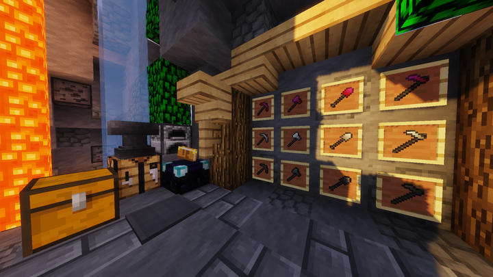 Tools & Tile Entities Brighter Chests!