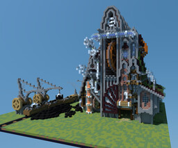 Steam Punk Builds Minecraft Map & Project