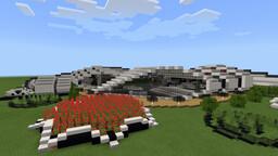 Futuristic House Minecraft Map & Project