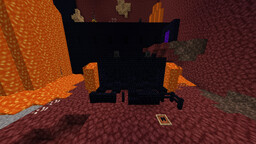 Black & Blue Obsidian and Nether Bricks Minecraft Texture Pack
