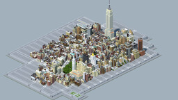 Manhattan in Minecraft- Midtown Manhattan (UPDATED DOWNLOAD!) Minecraft Map & Project