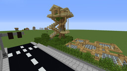 Minecraft City (in progress) Minecraft Map & Project