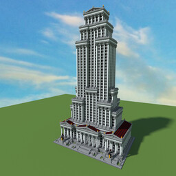 The Roman Empire State Building +Demo Video Minecraft Map & Project