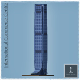 International Commerce Center, Hong Kong China Minecraft Map & Project