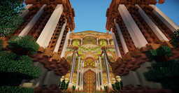 Eleysar - Forest Temple Minecraft Map & Project