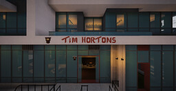 Tim Hortons - Vancouver Flagship Store Minecraft Map & Project