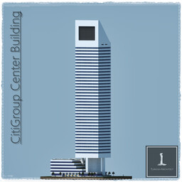CitiGroup Center, New York USA Minecraft Map & Project