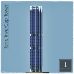 Torre Invercap Tower, Monterrey Mexican (Full Interior) Minecraft Map & Project
