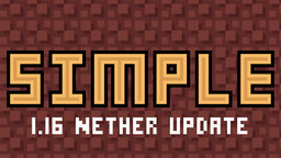 Digs' Simple Pack [latest snapshot 20w13a - 100% complete] Minecraft Texture Pack