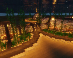 Under water modern base Minecraft Map & Project