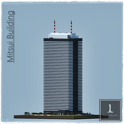 Mitsui Building, Japan Tokyo Minecraft Map & Project