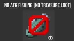 No more treasure fishing loot! Minecraft Data Pack