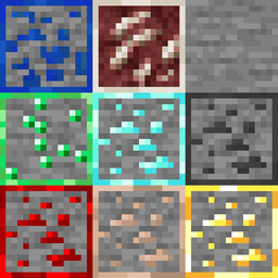 K3wl's Ore Outline for 1.15 Minecraft Texture Pack