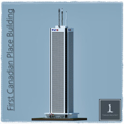 First Canadian Place Tower, Toronto Canada (Full Interior) Minecraft Map & Project