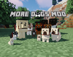 More Dogs (Forge 1.14.4 and 1.15.2) Minecraft Mod