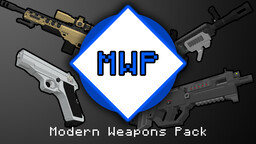 Modern Weapons Pack (3D Models) [1.12/1.13/1.14] Minecraft Texture Pack
