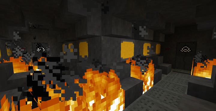 IT BURNS DOWN HERE...