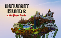 Monument Island 2 Minecraft Map & Project
