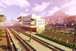 Railway line Karlovy Vary - Johanngeorgenstadt : UPDATE 2020 Minecraft Map & Project