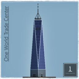One World Trade Center, [Freedom Tower] Manhattan New York USA Minecraft Map & Project