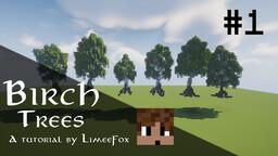 How to build a Birch Tree - Tutorial Minecraft Blog
