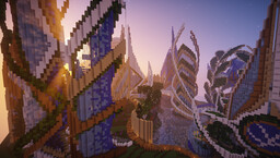 Ender : An Ecological Futuristic City (Download) Minecraft Map & Project