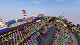 Map Port-Industrie Fr By ZeyKyl Minecraft Map & Project