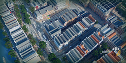 Amberstone City (Amsterdam Inspired City) Update #2 Minecraft Map & Project