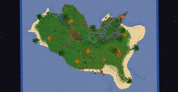 Exotic lost island Minecraft Map & Project