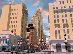 [鱼腩学说]GELAN City Minecraft Map & Project