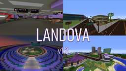 Landova (Modded Country Map)  [v1.3] Minecraft Map & Project