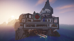 Redstone Cliff House Minecraft Map & Project
