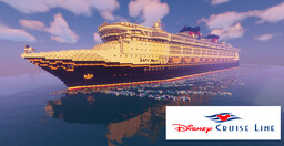 Disney Magic Cruise Ship Replica - Full Interior Minecraft Map & Project