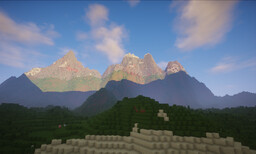 Mt. Gooshmore Minecraft Map & Project