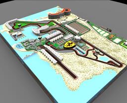 Yas Marina Circuit Minecraft Map & Project