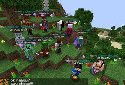 AzCraft PaperMC : Infernal Mobs : Dungeons : McMMO : Grief Prevention: Economy : Family Friendly : Player Staff : Bungeecord (3 Worlds) Minecraft Server