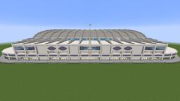 Small Domed Football Stadium Minecraft Map & Project