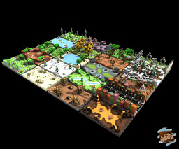20 Practice Arenas Pack - Variety of Themes! Minecraft Map & Project