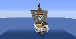 Going Merry Minecraft Map & Project