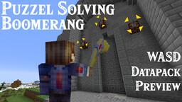 WASD Zelda Boomerang [Datapack] 1.14.4 to 1.15.2 Minecraft Data Pack