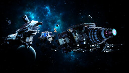 Orzlaka Space Spawn Minecraft Map & Project