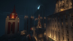 New Gotham (From Batman Arkham Origins) Minecraft Map & Project
