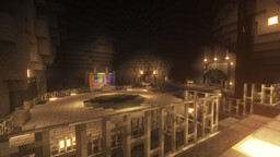 The Batcave by The4BDmaster Minecraft Map & Project