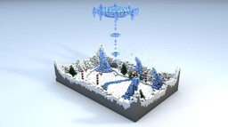CandyIce - 1v1 PvP Map Minecraft Map & Project