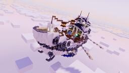 La Dauphine - Airship Galley Minecraft Map & Project
