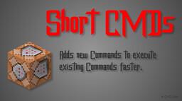 Short Commands Minecraft Data Pack
